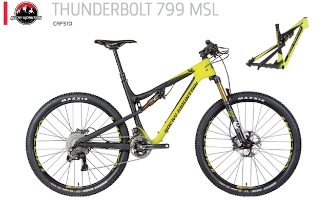 Rocky Mountain Thunderbolt 799 MSL
